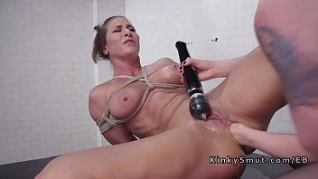 Ariel x bdsm videos Bound brunette lesbo anal fisting and toying