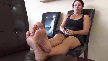 Frightened Woman Soles Feet