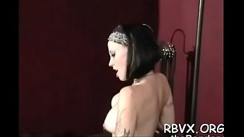 Free orgasam porn Girl in excited outfit gets orgasams whilst being bounded