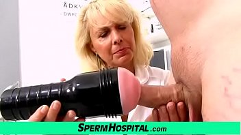 Functional decline in hospitalized older adults - Blonde lady doctor koko old with young cfnm exam and handjob