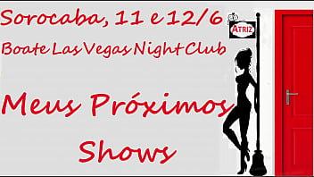 Sarah Rosa │ Divulgando Shows Em Sorocaba, Dias 11 E 12/6 Na Boate Las Vegas Night Club