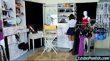 Lesbo Girls (darcie &amp_ jelena) In Hard Scene Punishing With Sex Toys movie-22