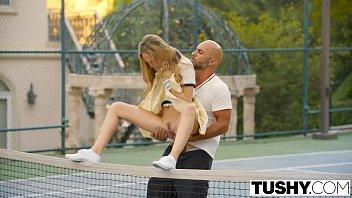 TUSHY First Anal For Tennis Student Aubrey Star pornhub video