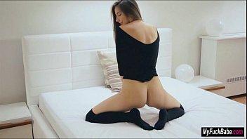 Connie masturbates her lonely night away - 69VClub.Com