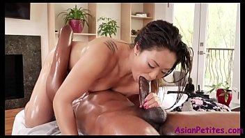 Asian star massage Interracial happy endings- nyomi star