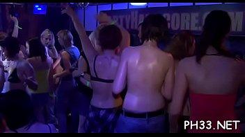 Naked darksome waiter drilled cheek so hard she screamed and comed