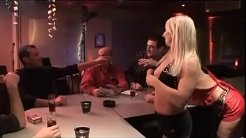 GANG-BANG in the restaurant pornhub video