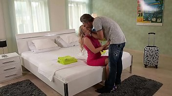 T e lyons erotica Hot blondie cayla lyons gets her shaved tasty pussy drilled doggy style gp232