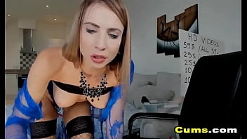 Naughty Babe Plays with Her Sex Toys