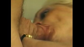 Blonde cougar with massive garage Kathy Jones likes to play mouth music with younger stud thumbnail