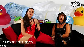 German Mistresses Herrin Carmen and Lady Julina looking for Adult Baby Diaperboy