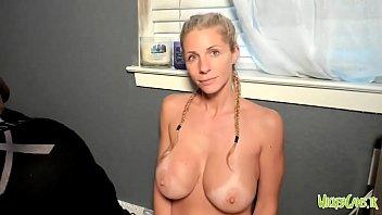 Boobs tanlines Tanlines huge fake boobs camgirl tease