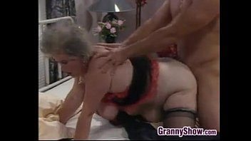 Fucking granny 29 - Fat european granny and a stud fucking