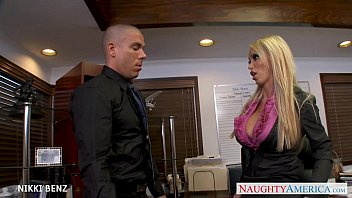 Big boobs americas got talent Stockinged office babe nikki benz fuck