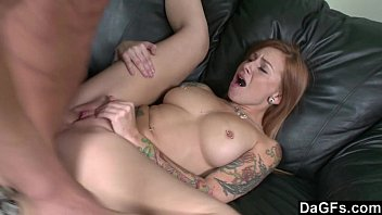 Scarlett Pain getting rammed hard at the office
