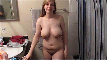 Showing off giant tits - more at CamPassion.net