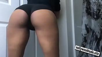 Ebony Strip Tease and Ass Shake