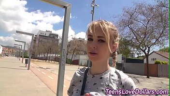 Real teen fucked outside