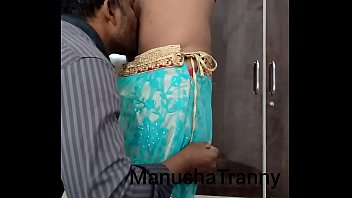 Tranny softcore Remove my saree - escort girl manusha tranny being undressed and exposing navel and belly