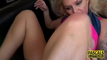 Squirting milf submissive gets pounded