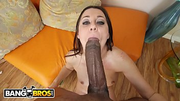 BANGBROS - Jack Napier Obliterates Brooklyn Jade's Tight Pussy With His Big Black Dick