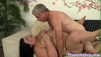 Chubby plumper cocksucking before missionary
