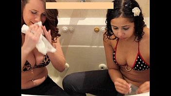 Bikini Girls Gagging Vomit Puke Puking and Vomiting