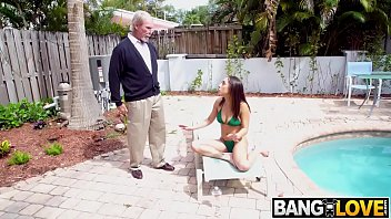 Kira Perez Gets Pounded By Grandpa
