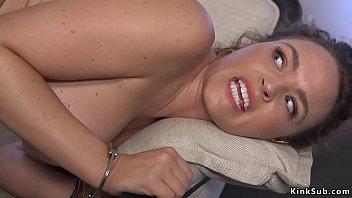 Parole officer gets big dick up her ass