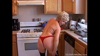 Very sexy grandma has a soaking wet pussy