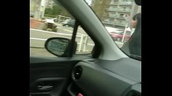 車内オナニー