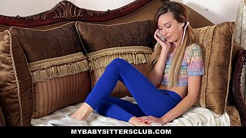 Caught the baby sitter sleeping sex Mybabysittersclub - skinny baby sitter caught making out with her bf