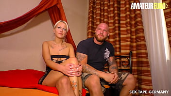 AMATEUR EURO - #Sandy Fire - Big Booty German MILF Has Missionary Sex On Cam With A Really Big Guy