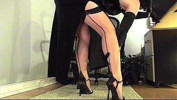 Leg sexy tease Leg tease