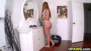 Big booty redhead Farrah Flower gets fucked