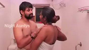 Hot South Indian House Wife Bathroom Romance With Husbaroomnd