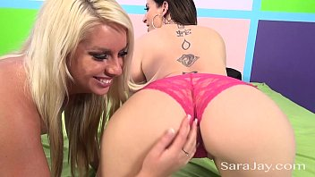 Sara Jay Double Team with Hot Blonde
