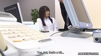 Japanese office lady, Mikuru Mio needs to get satisfied, uncensored