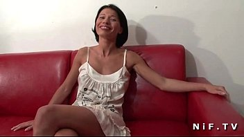 French milf with nice tits gets anal fucked 5 min