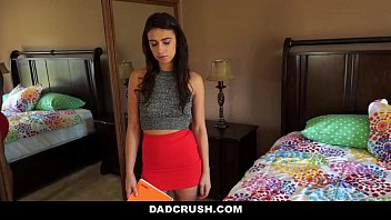 DadCrush - Learning How to touch herself from Step-dad