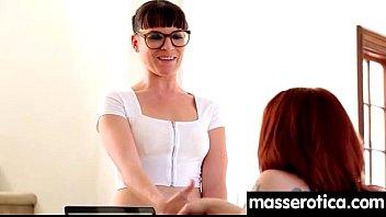 Sensual lesbian massage leads to orgasm 14 Thumb