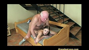 Man suck brazilian woman by pool Lucky day for horny grandpa