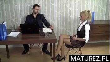 Polskie mamuśki - Sex w biurze