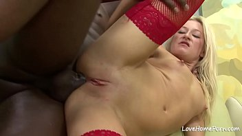 Anal penetration with an interracial horny couple