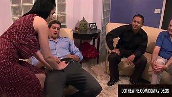 Cuckold Husband Watches Busty Wife Tacori Blu Get Stuffed in All Holes