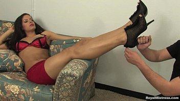 Amazing Femdom clip with Mistress Skylar