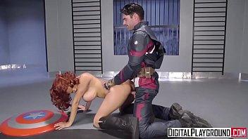 Porn superhero hardcore Digitalplayground - captain america a xxx parody