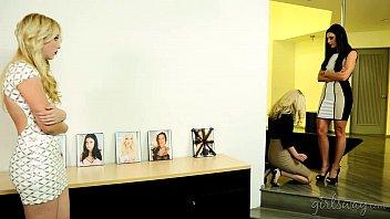 Lesbian first kiss stories - Girlsway - abigail mac, vanessa veracruz