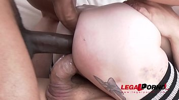 Anna de Ville monster cock fuck session with DP, DAP & triple penetration SZ1989