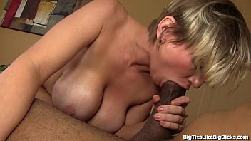 Busty Blonde Slut Fucked By Big Black Cock! thumbnail